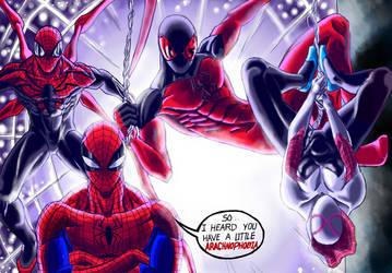 Spider-verse by AndresBellorin-ART
