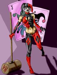 Harley Quinn by AndresBellorin-ART