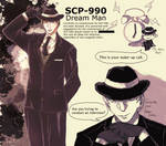 SCP-990 - Dream Man by amsin-indigoswallow