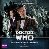 Plague of the Cybermen audiobook cover by Hisi79