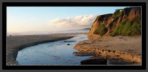 California Coastline by Wippy