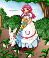 Harvest Moon- Nina Watering by Sanoshi