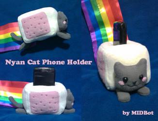 Phone Holder: Nyan Cat by Midbot