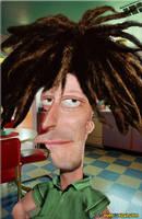 Real Sideshow Bob Patino by PeorEsNada-com