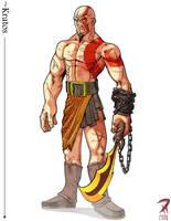Kratos by Hyptosis