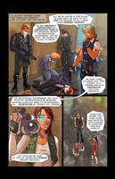 Cyber Punk Page One by Hyptosis