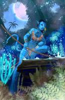 Na'vi Hunter by Hyptosis