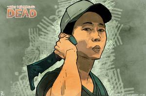 Walking Dead Shorthand by Hyptosis