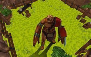 Ogre Guy by Hyptosis
