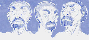 Drawlin Heads by Hyptosis