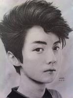 EXO Luhan by DENITSED