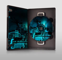 Cyan DVD...thing. by RelyksW