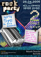 rock pary poster by OzerKarakus