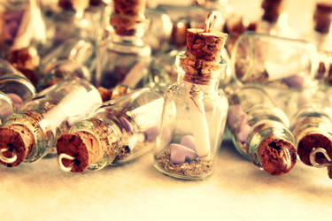 Message in a bottle. by CandyDesign