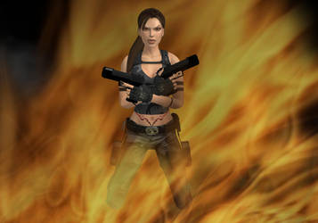 Lara loves the way you lie by TombRaiderShock