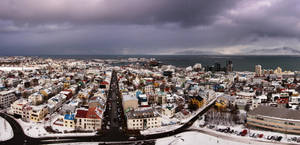 Reykjavik Panorama by Mashuto