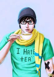 I hate tea by Anzu-K