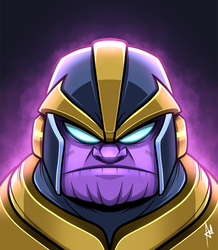 Thanos by popon85
