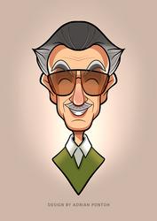 Tribute Stan Lee by popon85