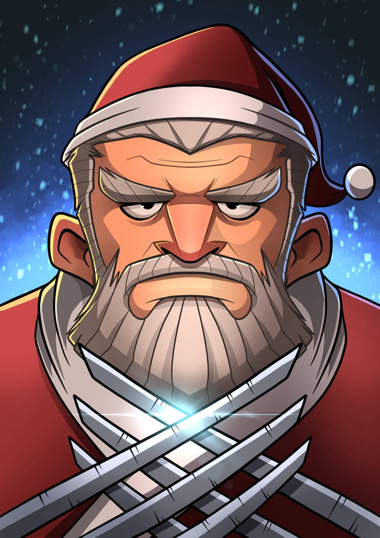 Santa Claws  by popon85