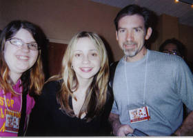 Me, Dad, and Tara Strong by Star-n-Robin-Foreva