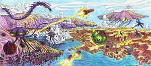 AE Invertebrate World by LEXLOTHOR