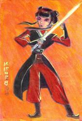 Mai as Jedi Knight by LEXLOTHOR