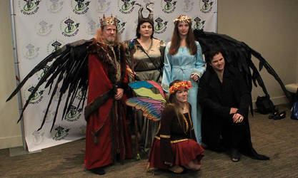Maleficent Cosplay Group by LEXLOTHOR