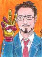 Tony Stark by LEXLOTHOR