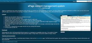 sPage Website Management by Grayda