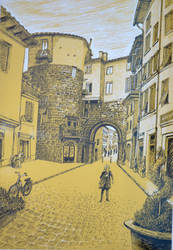 A Walk In the Old City - by Alexandru Coman by ADIKAY