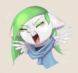 I-I'm not cute! by Klooda