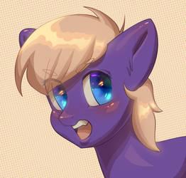 Blushing by Klooda