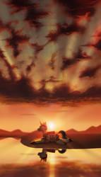 Sunset by Klooda