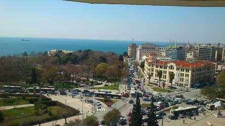 Thessaloniki by above by foxmarina