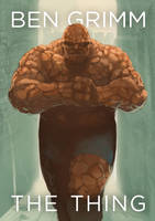 Fan Cover: Ben Grimm, The Thing by FrostLlamzon