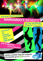 Benefit Gig Poster by Hayter