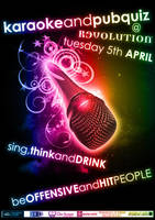 Karaoke Poster by Hayter