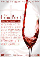 Law Ball Red Wine Poster by Hayter