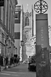 Up to the Cathedral by Hayter