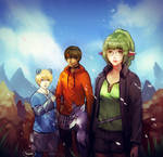 Kou, Lan, Rexx, and Runi by PoiPoiChu by ProjectMabi