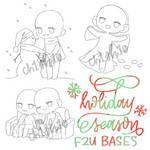 Holiday Season F2U Bases by ch1sh10