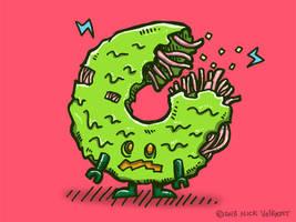 Zombie Donut II by nickv47