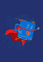 Super Coffee (Navy) by nickv47