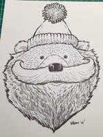 Novembear 11: The Mustache Bear by nickv47