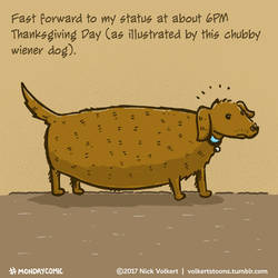 Fat Wiener Dog by nickv47