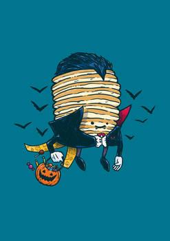 Spooky Pancake by nickv47