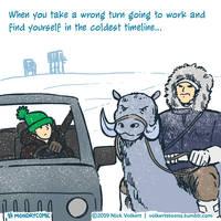 Monday Comic - Coldest Timeline by nickv47