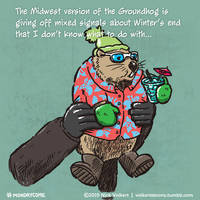 Monday Comic - Midwest Groundhog by nickv47