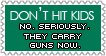 Don't Hit Kids Stamp by MaRtHiNa-hearts